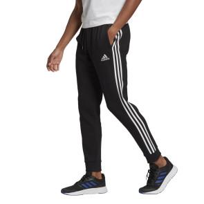 Ανδρική Φόρμα Adidas Essentials Fleece Tapered Cuff 3-Stripes Pants adidas-GK8821