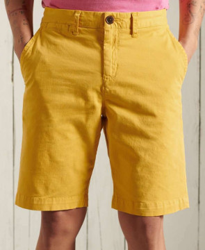 Ανδρική Βερμούδα SUPERDRY - International Chino Short - Yolk Yellow superdry-M7110250A-3KT Yolk Yellow
