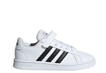 Παιδικά Sneakers Adidas GRAND COURT C - Λευκό adidas-EF0109