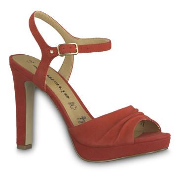 Γυναικεία Πέδιλα Tamaris - Κόκκινο tamaris-28376-22-515