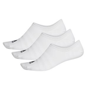 Κάλτσες adidas 3 Ζευγάρια No-Show Socks - ΛΕΥΚΟ adidas-DZ9415