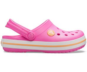 Παιδικά Σανδάλια Crocs™ - Electric Pink/Cantaloupe crocs-204537-6QZ