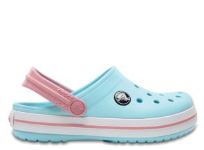 Παιδικά Σανδάλια Crocs™ Crocband Clog K - Ice Blue/White crocs-204537-4S3