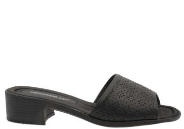Γυναικεία Ανατομικά Mules Piccadilly -  Μαύρο piccadilly-525032 ΜΑΥΡΟ
