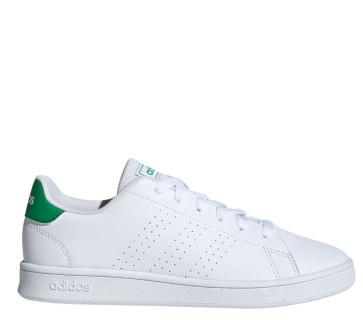 Παιδικά Sneakers Adidas Advantage K - Λευκό Πράσινο adidas-EF0213