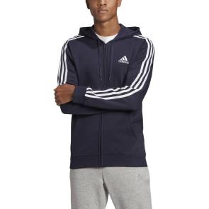 Ανδρική Ζακέτα Adidas ESSENTIALS FLEECE 3-STRIPES FULL-ZIP HOODIE adidas-GK9053