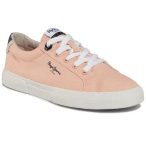 Γυναικεία Sneakers Pepe Jeans Kenton Basic - Σομόν pepe-PLS30990-313 ΣΟΜΟΝ