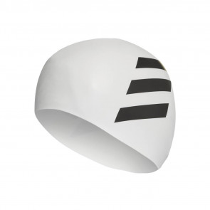 Σκουφάκι κολύμβησης Adidas Sil 3-Stripes Cap  adidas-FJ4968