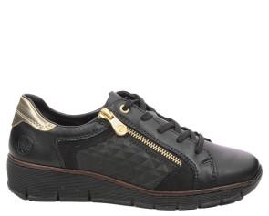 Γυναικεία Sneakers Rieker - Μαύρο rieker-53703-00 Μαύρο