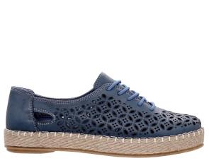 Γυναικείες Εσπαντρίγιες Sneakers Safe Step - ΜΠΛΕ safe-step-69300 ΜΠΛΕ