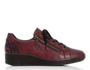 Γυναικεία Sneakers Rieker - Μπορντό rieker-53702-35