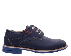 Ανδρικά παπούτσια Cabrini - Μπλε cabrini-162 ΜΠΛΕ