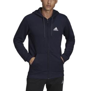 Ανδρική Ζακέτα Adidas Essentials French Terry Big Logo Track Jacket - ΜΠΛΕ adidas-GK9045