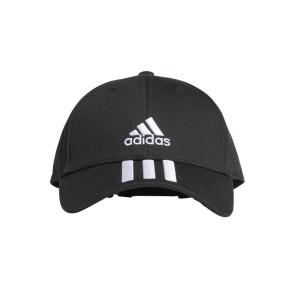 Καπέλο Adidas Baseball 3-Stripes Twill Cap - ΜΑΥΡΟ adidas-FK0894