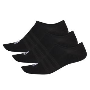 Κάλτσες adidas 3 Ζευγάρια No-Show Socks - ΜΑΥΡΟ adidas-DZ9416