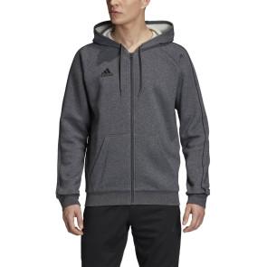 Ανδρική Ζακέτα Adidas Core 19 Hoodie - ΓΚΡΙ adidas-FT8070