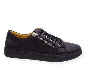 Γυναικεία Ανατομικά Sneakers Safe Step - ΜΑΥΡΟ safe-step-69510 ΜΑΥΡΟ