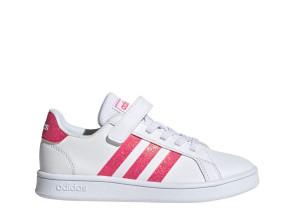 Παιδικά Sneakers Adidas GRAND COURT C - Λευκό adidas-EG3811